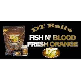 DT Fish N' Blood Fresh Orange Boilie
