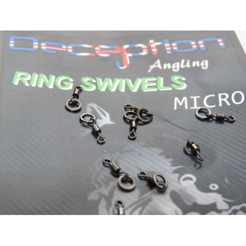 Deception Angling Quick change swivels 8