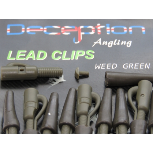 Deception Angling Lead Clips