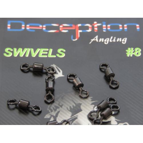 Deception Angling Swivels 8
