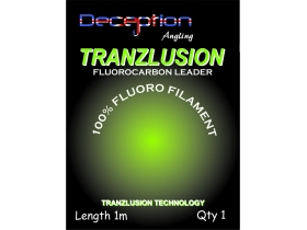 Deception Angling Tranzlusion leaders - водач прозрачен