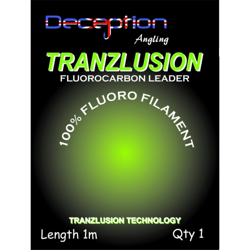 Deception Angling Tranzlusion leaders - водач прозрачен