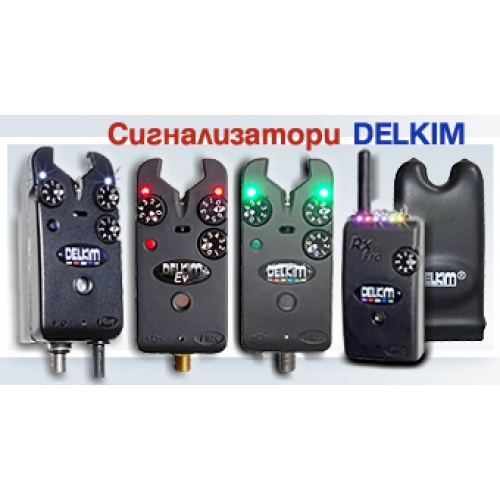 4 Delkim Tx-i Plus +Delkim RX Plus Pro 6 Led Mini Receiver with Vibro Alert