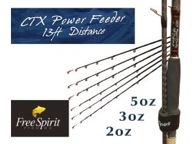 Free Spirit CTX Power Feeder rods 13f Distance