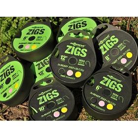 Korda Ready Zigs (360cm) Barbless size 10