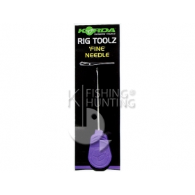 Korda Fine Latch Needle 7cm - Purple Handle