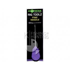 Korda Fine Latch Needle 7cm - Purple Handle