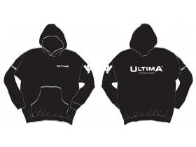 Ultima Zip Hoodie - Black
